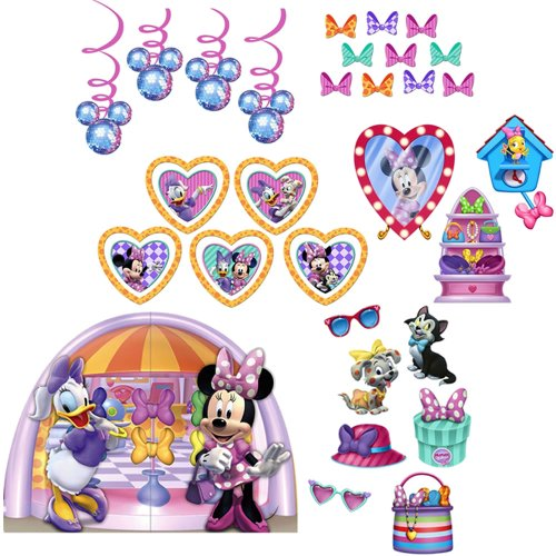 Disney Minnie Mouse Dream Including Room Transformation Kit and Scene Setter Backdrop and Props Kit