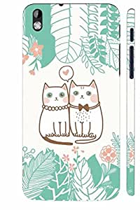 KALAKAAR Printed Back Cover for HTC Desire 816,Hard,HD Matte Quality,Lifetime Print Warrenty