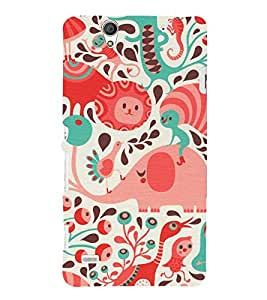 EPICCASE the caterpillar Mobile Back Case Cover For Sony Xperia C4 (Designer Case)