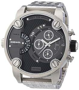 Diesel - DZ7259 - Montre Homme - Quartz Chronographe - Bracelet Acier Inoxydable Plaqué Argent