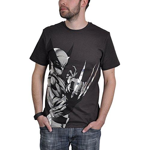 Marvel Comics Maglia T Shirt Wolverine Profil Size L CODI
