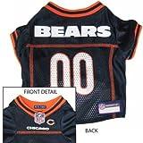 Chicago Bears Orange Trim Dog Jersey X-Small