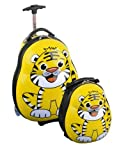 Skyflite Skykidz Tiger Childrens Trolley Suitcase and Backpack Set
