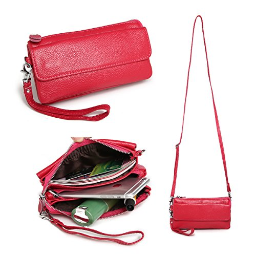 itslife-borsa-a-tracolla-donna-rosso-rot-rose-red