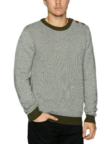 Selected Homme Tye Crew Neck Men's Jumper Forest Night Small