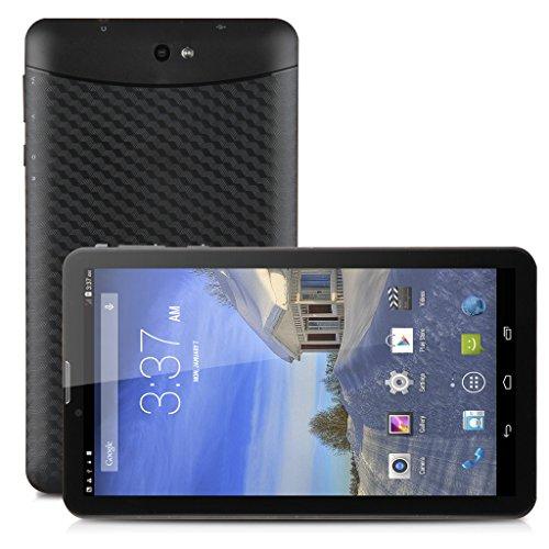"""Freelander 7 """"PC 4.4 MTK6572 Dual Core Fotocamera Tablet GPS 8GB Tablet Dual SIM Dual Standby 3G Bluetooth Doppio Android (Nero)"""