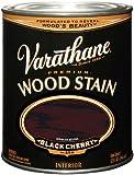 Rust-Oleum 241413 Varathane Oil Base Stain, Half Pint, Black Cherry