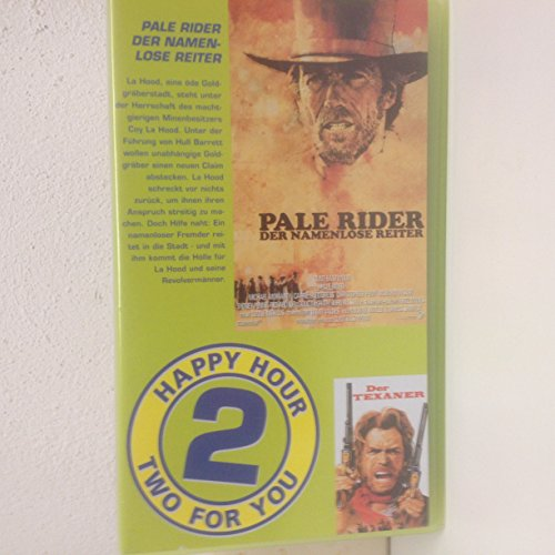 Two For You - Pale Rider/Der Texaner [VHS]