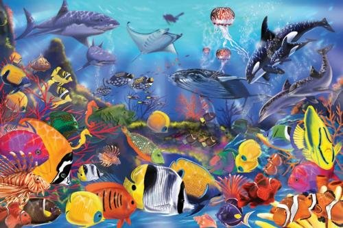 Underwater Floor Puzzle - Melissa and Doug - 1