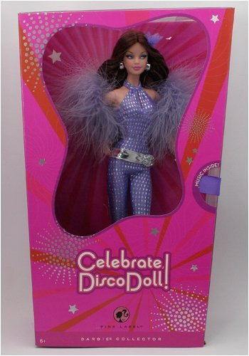 Top Celebrate, Disco Doll! Barbie Doll 2008