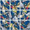 B Dazzle Boating Scramble Squares 9 Piece Puzzle
