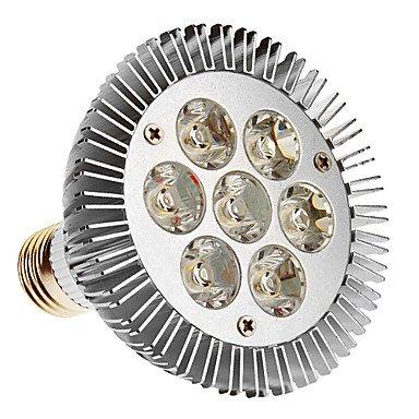E27 Par30 7W 7-Led 600Lm 3000K Warm White Light Led Spot Bulb (85-265V)
