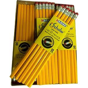 iScholar Gross Pack #2 Yellow Pencils, 144 Count (33144)