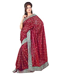 Dealtz Fashion Casual Fantastic Saree With Unstitch Blouse