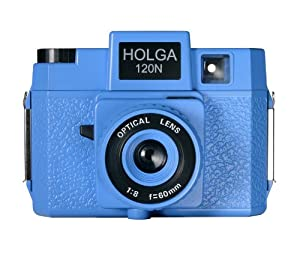 Holga 186120 Blooze Brothers Holgawood Collection Plastic Camera (Blue)