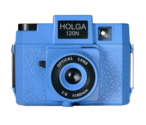 Fantastic Deal! Holga 186120 Blooze Brothers Holgawood Collection Plastic Camera (Blue)