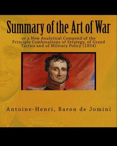 jomini summary of the art of war pdf