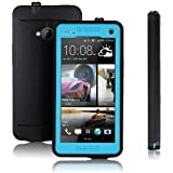 Redpepper HTC One M7 Case Cover Waterproof Dirtproof Snowproof Shockproof Skin Hard Phone Shell for HTC One M7 (Blue)