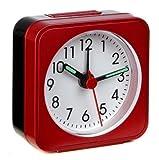 Travel clock with Sweep clockwork LA PALMA 60.1019.05 red