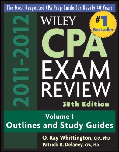 Wiley CPA Examination Review, Outlines and Study Guides...