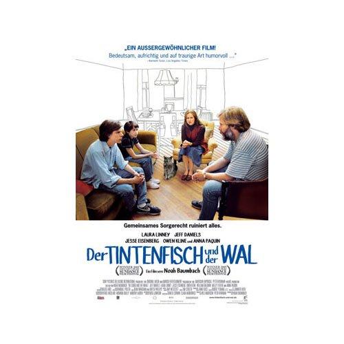Movieposter - Poster Der Tintenfisch und der W