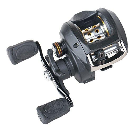 Entsport casting reel low profile baitcast reel 6 4 1 for Fishing reels baitcaster