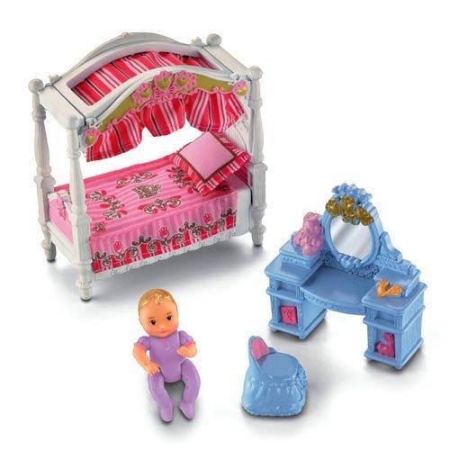 Fisher Price Loving Family Dream Mega Set Dollhouse W Dolls