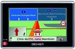 Becker Traffic Assist Special Edition Z108 Navigationssystem (10,9 cm (4,3 Zoll), TMC, Kartenmaterial Europa 40 Länder, Fahrspurassistent, 3D-Geländeansicht)