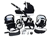 Chilly Kids Dino 3 in 1 Kinderwagen Set (Autosit & Adapter,...