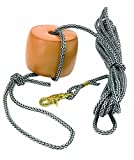 Anglers Choice Bo-Slo Drift Anchor Tow Rope with Water Resistant Suplex Poly-Pro Rope, 25-Feet
