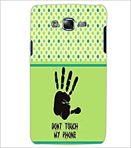PrintDhaba Quote D-2756 Back Case Cover for SAMSUNG GALAXY ON 7 (Multi-Coloured)