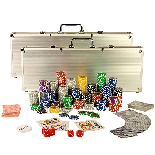 Ultimate Pokerset mit 1000 hochwertigen...