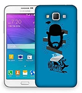 Snoogg Is The Whale Designer Protective Back Case Cover For Samsung Galaxy Grand Max G7200
