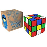 Speed Cube: The Best Brain Training Game - Expand Your Mind With Hours of Logical Fun; Easy Turning and Smooth Play; Super-durable With Vivid Colors; Ultimate Gift Idea; Best-selling 3x3 Magic Cube.