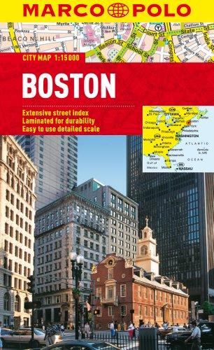 Boston Marco Polo City Map 1:15K (Marco Polo City Maps) [Marco Polo Travel Publishing] (Tapa Blanda)