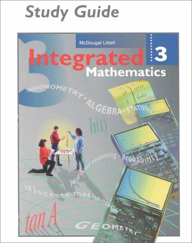 McDougal Littell Integrated Math: Study Guide Book 3