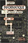 L'option informatique en classes pr�p...