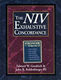 The NIV Exhaustive Concordance ( A Regency Reference Library Book) (0310436907) by Goodrick, Edward W.