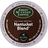 Green Mountain Coffee Nantucket Blend, Medium Roast, 24-Count -0.33 oz- K-Cups for Keurig Brewers (Pack of 2)