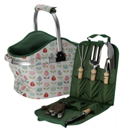 Garden Basket & Tool Set
