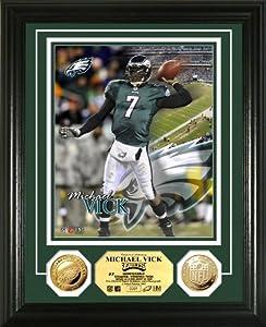 NFL Philadelphia Eagles Michael Vick 24KT Gold Coin Photo Mint by Highland Mint