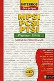echange, troc Cyriaque Cholet, Eric Maurette - Physique-Chimie nouveau programme : MPSI-PCSI-PTSI