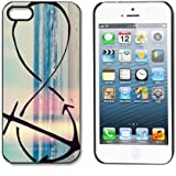 amtonseeshop Unique Various New Stylish Personalized Protective Snap On Hard Plastic Case For iphone 5 5G 5S (Infinity Anchor)