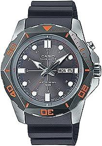 Men's Casio Black Diver's Look Sports Watch MTD1080-8AV