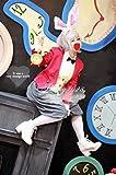 【不思議の国のアリス】白ウサギ(擬人化)コスプレ衣装+ウィッグオーダー自由 ディズニークリスマス、ハロウィン イベント仮装 コスチューム