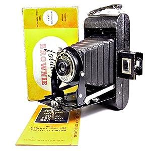 Kodak Six-20 Folding Brownie - Vintage Post War 1940s Film Camera
