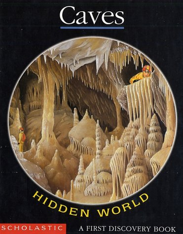 Hidden World: Caves (First Discovery Book) back-1010938