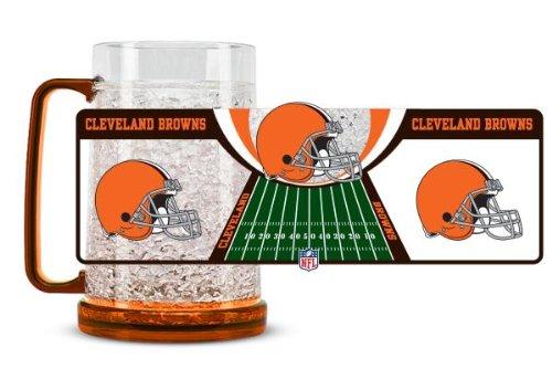 Cleveland Browns Crystal Freezer Mug--(Package Of 2)