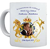 Prince William and Kate Middleton WEDDING Commemorative Coffee Mug Cup #4- 29th April 2011 – Ideal gift as a Collectors Item – Affordable Gift for your loved one! (RC-DIS-4W)
