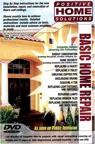Basic Home Repair: Home Improvement DVD